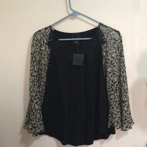 Brand new with tags Anna Sui poncho